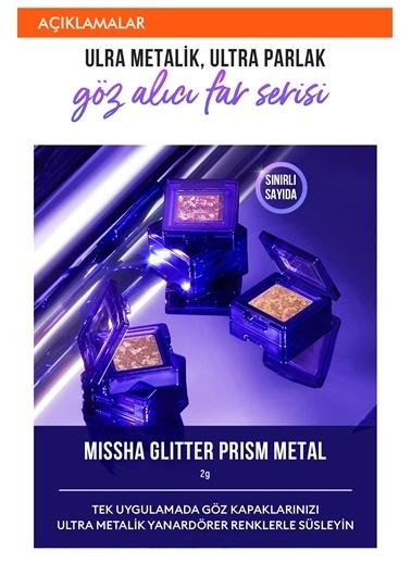 Missha Yoğun Pigmentli Parıltılı Metalik Tekli Far Mıssha Glitter Prism Metal (No.5) Renksiz